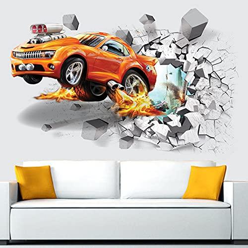 Adesivi creativi Adesivi decorativi Decorazione della parete della camera da letto Decorazione della parete Adesivi per auto-A