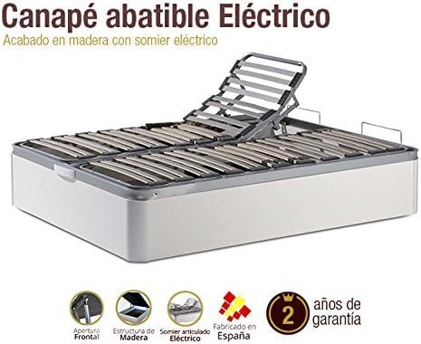 Naturconfort Canapé de Madera eléctrico 135x190cm