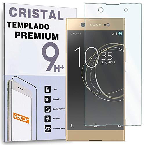 REY Protector de Pantalla para Sony Xperia XA1 Ultra, Cristal Vidrio Templado Premium