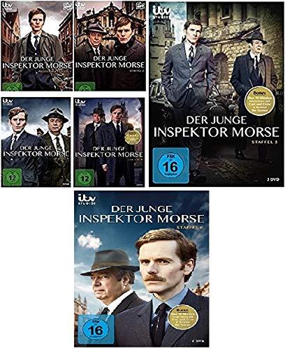 Der junge Inspektor Morse - Staffel / Season 1+2+3+4+5+6 im Set - Deutsche Originalware [14 DVDs]