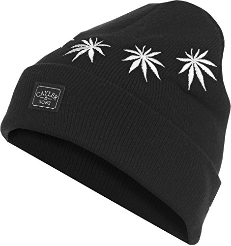 Cayler And Sons - Bonnet Homme Fuck Yeah Beanie - Black/White