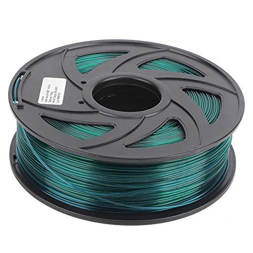 ZHANGDONG Excellente qualité Imprimante 3D Longue Filament PLA Impression Vert Transparent Matériel Consommables 1.75mm Prix raisonnable