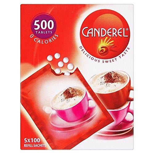 Canderel Tabletas Rellenar Sobres (500) (Paquete de 2)