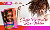 Uhuru Naturals Chebe Fermented Rice Water - Natural Hair Conditioner, Moisturizer & Detangler - Hair Fall Prevention, Growth & Repair For Men & Women (16 oz)