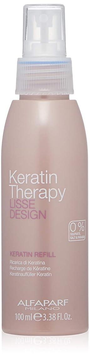 Alfaparf Milano Keratin Therapy Lisse Design Keratin Refill Spray - Maintains and Enhances Keratin Treatments - Thermal Protector - Professional Salon Quality - 3.38 fl. oz.
