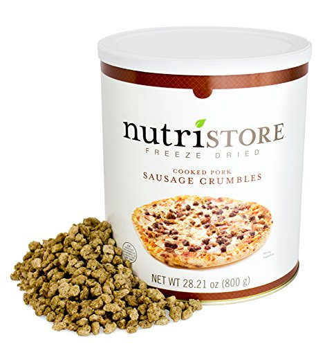 Nutristore Freeze Dried Sausage Crumbles