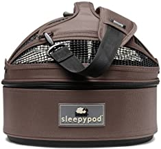 Sleepypod Mini Mobile Pet Bed, Dark Chocolate