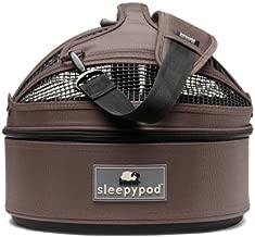 Sleepypod Mini Mobile Pet Bed, Dark Chocolate