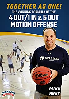 Together as ONE! The Winning Formula of the 4 Out/1 In & 5 Out Motion Offense