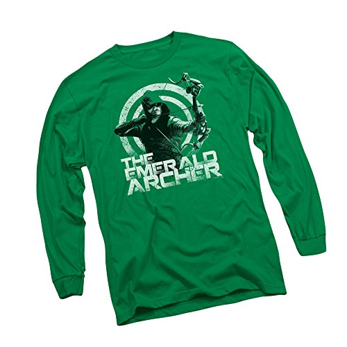 The Emerald Archer - CW's Arrow TV Show Adult Long-Sleeve T-Shirt, X-Large