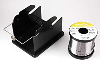 Indium 52905-0454 63/37 No-Clean .032 in 1 lb Solder + Hakko 611-1 Stand