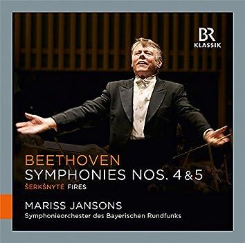 Beethoven: Symphonies Nos. 4 & 5 - Šerkšnytė: Fires
