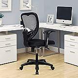 World Office Furniture Ergonomic Office Chair (Polypropylene , Black )