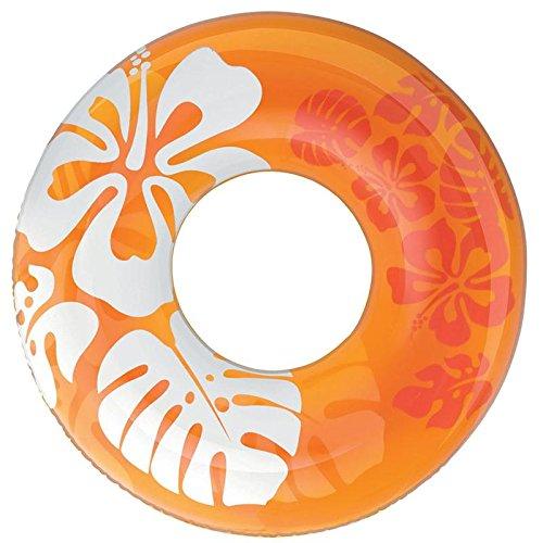 Spielring 91cm 3-fach sortiert Clear Color Blumendesign (1Stück)