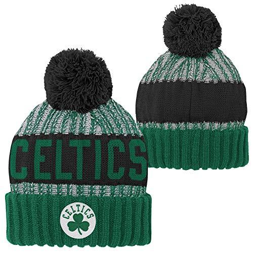 Outerstuff Boston Celtics NBA Youth Knit Pom Hat