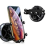 XunHe Car Round Vent Phone Holder, Upgraded Six-point Linkage Gravity Car Phone Mount