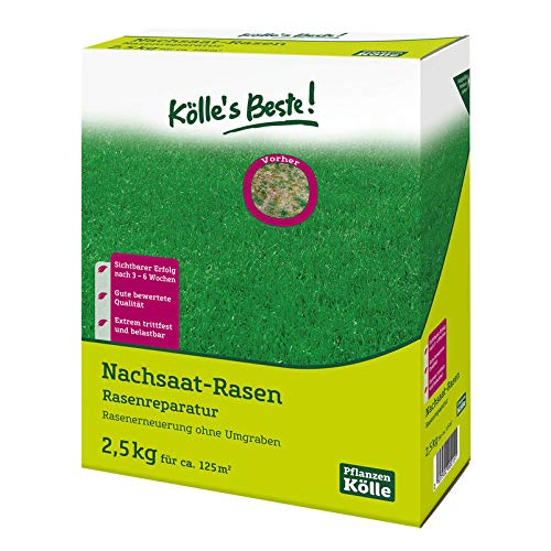 Kölle's Beste! Rasen-Nachsaat 2,5 kg