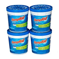 DampRid Refillable Moisture Absorbers are convenient 10. 5-ounce cups that attract and trap excess moisture out of the air. DampRid eliminates odors by absorbing excess moisture that creates damp, musty smells. Great for use in a bathroom, laundry ro...