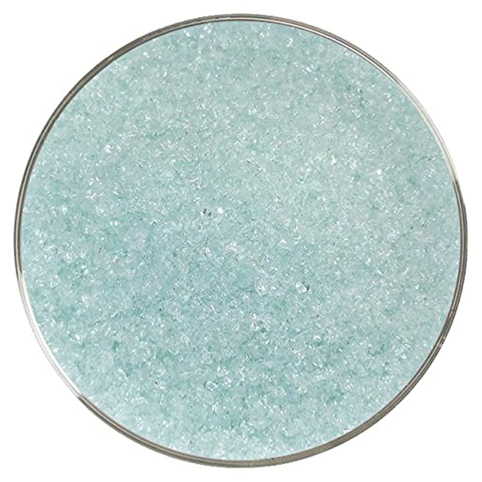 Ming Green Iridescent Fusible Glass Medium Frit - 96COE - 4oz - Made from System 96 Glass