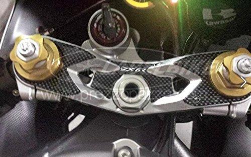 Protección Gel 3D Placa Horquilla Compatible para Moto Kawasaki ZX-6R 2005-2006