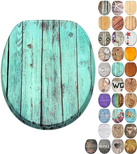 WC Sitz, viele schöne Holz WC Sitze zur Auswahl, hochwertige und stabile Qualität (Lumber)