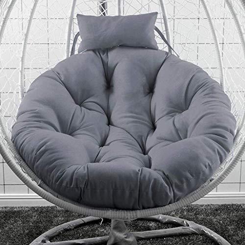 Opknoping Nest Schommel Kussens Basket Bird's, 100% Katoen Eendendons Single Hangstoel Voor Het Wassen Radar Stoelkussen Hangstoel
