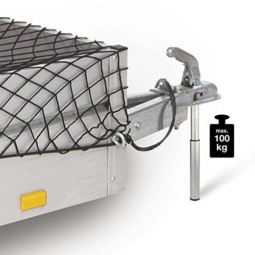 Unitec 10038 - Bilancia di supporto, 100 kg, in alluminio