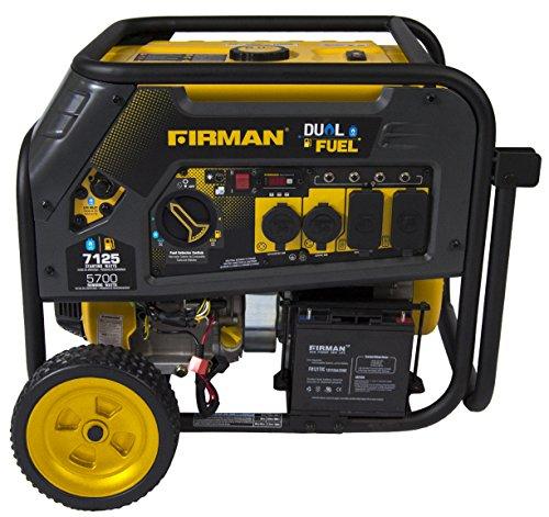 Extended Run Time Generator Electric Start - FIRMAN H05751