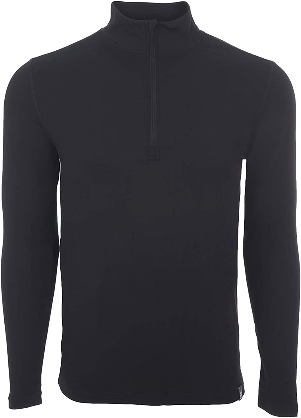 Directly managed store Avalanche Men's Moisture Wicking Wool Pullover Max 54% OFF Zip Half Blend Ba