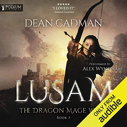 Lusam: The Dragon Mage Wars, Book 3 cover art