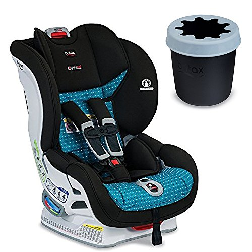 Britax USA Marathon ClickTight Convertible Car Seat, Oasis & Convertible Child Cup Holder