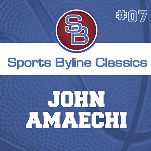 Sports Byline: John Amaechi  By  cover art