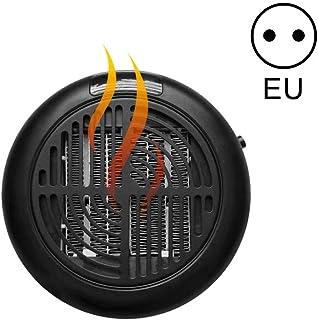 Apark Calefactor Portátil Mini Estufa Eléctrica Instant Heater Termoventilador Bajo Consumo con Termostato Ajustable, Adaptador Giratorio Calefactor Electrico para Casa Oficina Camper (EU Plug)