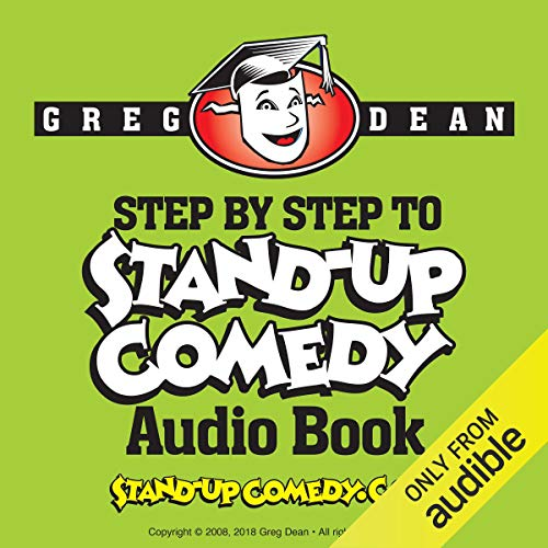 Step by Step to Stand-Up Comedy audiobook cover art