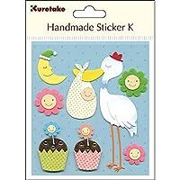 呉竹 HANDMADE STICKER K WELCOME BABY SBST300-12 Japan