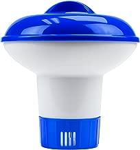 SplashTech Mini Floating Chlorine Dispenser for 1-inch Tablets