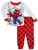 Marvel Spiderman Pijama de 2 Piezas Go Spidey PJ Set para niños pequeños - Gris - 3 años