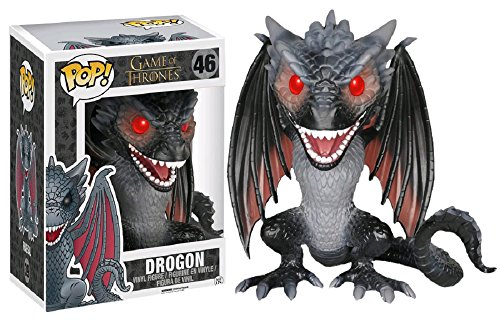 Funko - Figurine Game of Thrones - Drogon Oversized Pop 15cm - 0849803050573