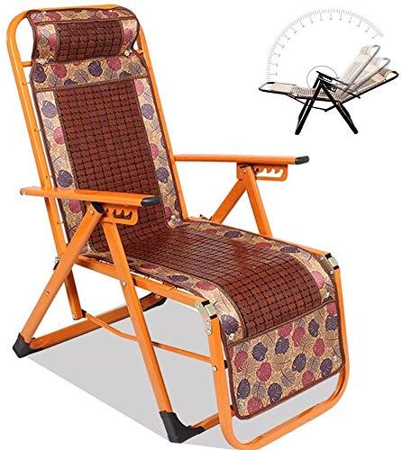 HWZQHJY Presidente de la Gravedad Cero Salón Patio reclinable Ajustable