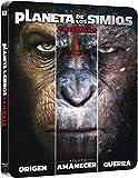 Pack Trilogia Planeta De Los Simios Black Metal Edition Blu-Ray [Blu-ray]