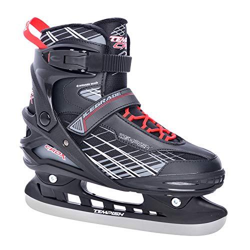 Tempish Eishockey-Schlittschuh CROX I 9 Größen I Ideal für Freizeitsspieler I Edelstahlkufen I komfortables Laufen I gute Passform