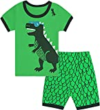 Qtake Fashion - Pijama para niños de 1 a 12 años, motivo de dinosaurios...
