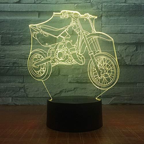 Jiushixw 3D acryl nachtlampje met afstandsbediening van kleur veranderende tafellamp Dragon Ball kleurrijk kinderdaggeschenk nachtkastje bureaulamp emoji tafellamp