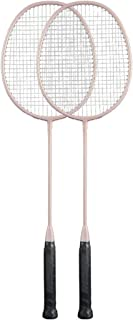 Rackets Teenager, Student Durable Badminton Racket, Adult Beginner Racket Set, High Elastic Carbon Composite Material, 3U...