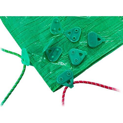 Clips auto perforants pour fixation des baches lot de 6 pieces