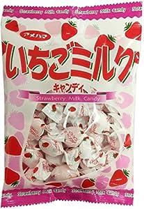 アメハマ製菓 いちごミルク 85g ×6袋