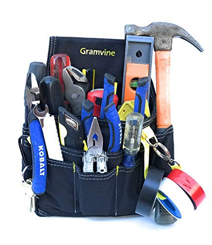 Maintenance Small Tool Pouch with Multiple Pockets