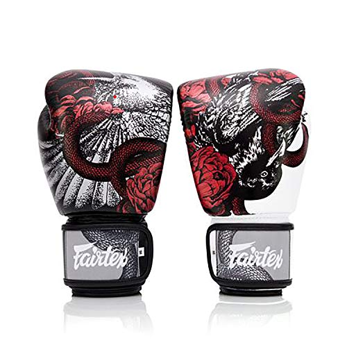 New Genuine FAIRTEX Limited Boxing Gloves The Beauty of Survival (16oz)