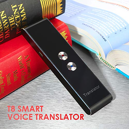 Vapeart Smart Instant Language Translator Device Portable Foreign Language Real-Time 2-Way Translations [Support Up to 44 Languages/Voice Operated] Compatible iPhone Android Smartphone (Black) Photo #9