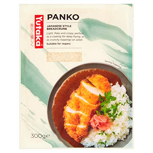 Panko Japanese Breadcrumbs -300g - Great for Katsu Curry & More !